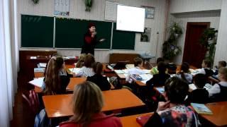 ЗА Відкритий урок укр мови частина 1