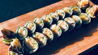 땡초 삼겹살김밥 Spicy porkbelly kimba…