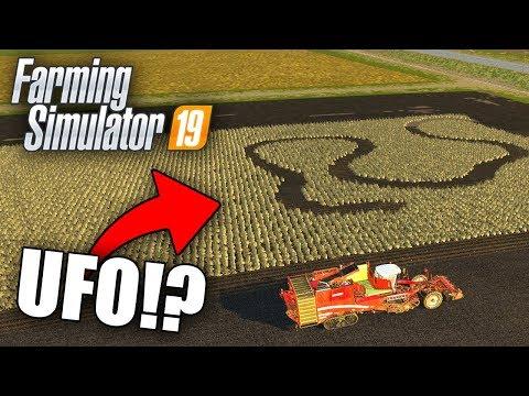 CZYŻBY *UFO* NAWIEDZIŁO POLA !? (Shepard, Hogaty & Sylo) - Farming Simulator 19 #3