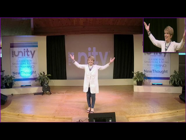 8-18-2019 The Birth of a New Idea - Rev. Dr. Temple Hayes  |  First Unity Spiritual Campus