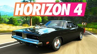 Forza Horizon 4 - CUSTOMISATION 1969 DODGE CHARGER R/T 1000HP !!