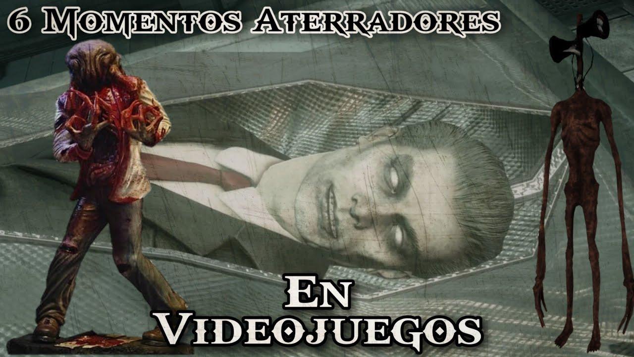 ¡TOP 6 MOMENTOS Más ATERRADORES en VIDEOJUEGOS! 😱