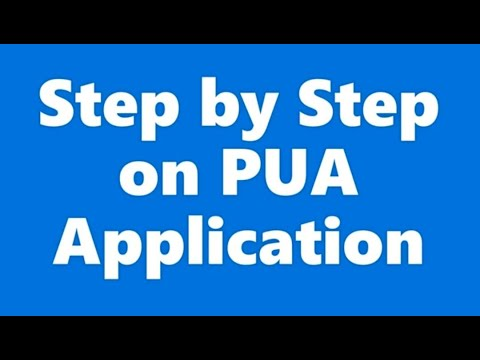 How To Fill Out PUA  Application | Step By Step Instructions For Self-Employed, Uber, Business Owner