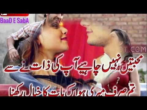 2 Lines Romantic Best Collection Poetry 2017|Part-40|Urdu/Hindi Poetry|By Hafiz Tariq Ali|