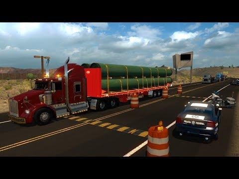 Kenworth T800 Kenmex | De Sonoyta, Sonora a Yuma Arizona | Sobredimensiones
