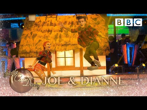 Joe Sugg & Dianne Buswell Charleston to 'Cotton Eye Joe' - BBC Strictly 2018