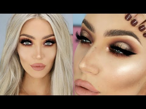The ULTIMATE Glam Christmas Makeup Look