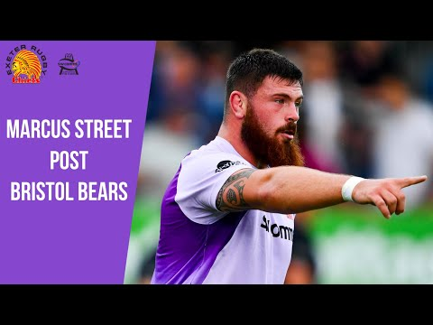 Chiefs TV - Marcus Street post Bristol Bears Premiership Cup