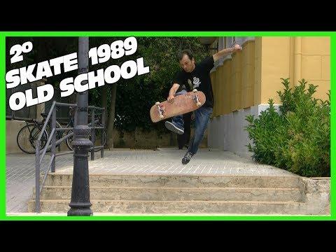 Skate Old School con mi Monopatin de 1989 -  2º Parte