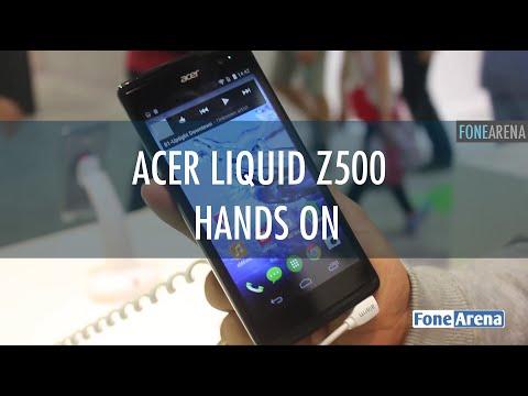 Acer Liquid Z500 Hands On