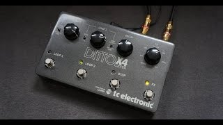 tc electronic - DITTO X4 LOOPER
