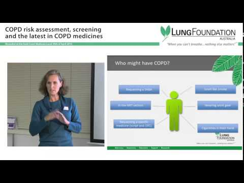 COPD Risk and Assessment Screening presentation delivered for Gold Coast Medicare Local