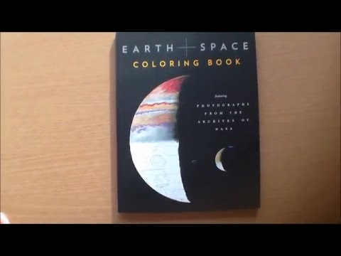 Earth And Space Coloring Book featuring Photographs from the ...