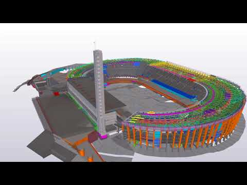 Helsinki Olympic Stadium - Tekla Finland and Baltics BIM Awards 2018
