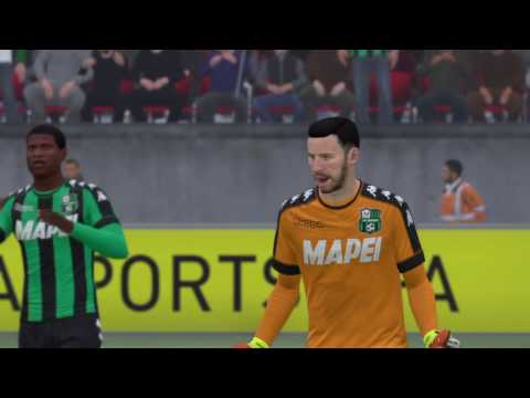 FIFA 17 - Sassuolo vs Pescara @ Crown Lane