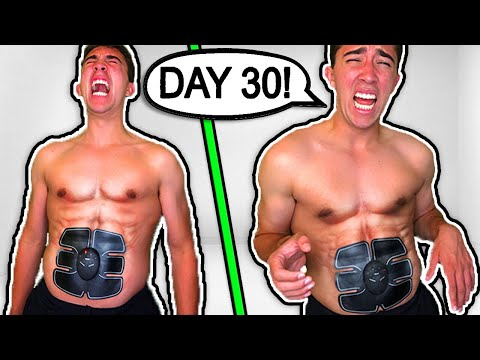 6 PACK ABS STIMULATOR - 30 DAY RESULTS