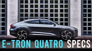 Audi E-Tron Quattro with First-Ever Virtual Exterior Mirrors
