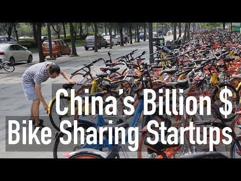 Bike sharing in China is worth billions, but costs you only $0.30/hr!