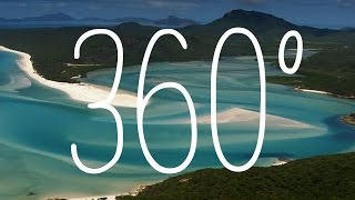 360: Whitehaven Beach and Hamilton Island, Queensland, Australia