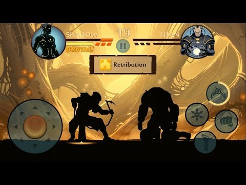 Shadow Fight 2    TITAN FINAL BOSS - Eclipse Mode 「Android Gameplay」