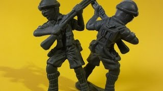 KIT SOLDADO  UNPACKING LITLLE PLASTIC SOLDIERS TOYS