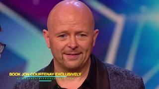 Jon Courtenay earns the GOLDEN BUZZER on Britain's Got Talent 2020