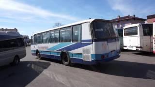 ポーランド・ザモシチの共産ぽい現役バス Zamość