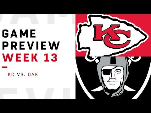 Kansas City Chiefs vs. Oakland Raiders | Week 13 Game Preview | NFL Film Review