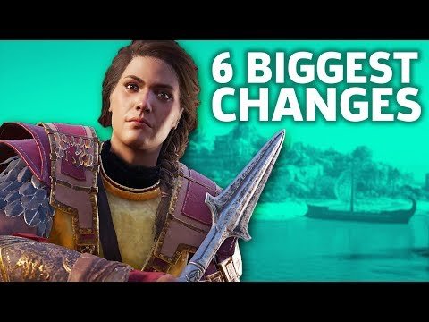 Assassin's Creed Odyssey: 6 Biggest Changes