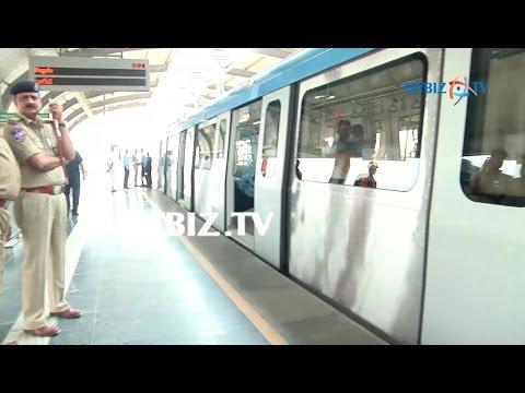 Hyderabad Metro Rail | Miyapur to Ameerpet Metro Inspection | hybiz