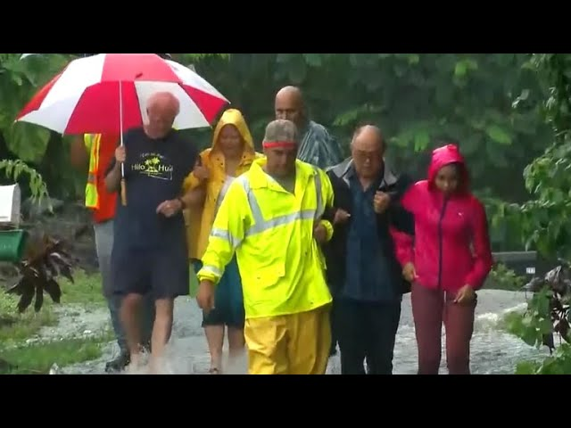 Hurricane Lane weakens to tropical storm but remains a threat