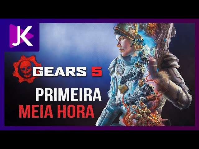 GEARS OF WAR 5: A PRIMEIRA MEIA HORA PT/BR [XBOX ONE X]