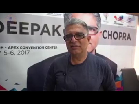 Deepak Chopra, MD - SaudiArabia Visit - Soul Of Leadership & Future of Wellbeing