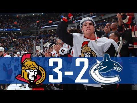 Canucks vs Senators | Highlights | Oct. 10, 2017 [HD]