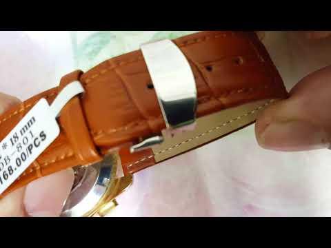 Клипса и кожаный ремешок как застегнуть и расстегнуть. (из Китая)
