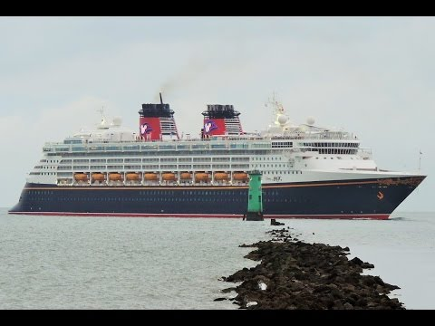 Dublin port cruise ship Disney Magic