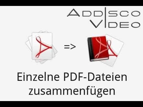 PDF Tutorial Part 1 | Mehrere PDF Dateien zusammenfügen | [German/Deutsch] from YouTube · Duration:  2 minutes 53 seconds