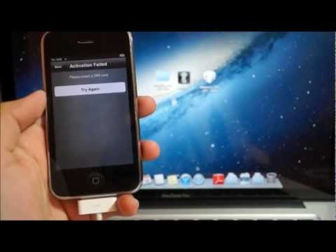 How to: Hacktivate iPhone 3GS & 4 on iOS 6.0/6.0.1! STEP BY STEP!