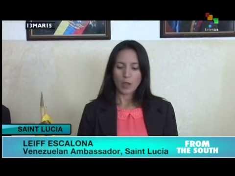 Saint Lucia, Petrocaribe and ALBA stand behind Venezuela