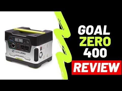 GOAL ZERO YETI 400 LITHIUM   Tech Video REVIEW