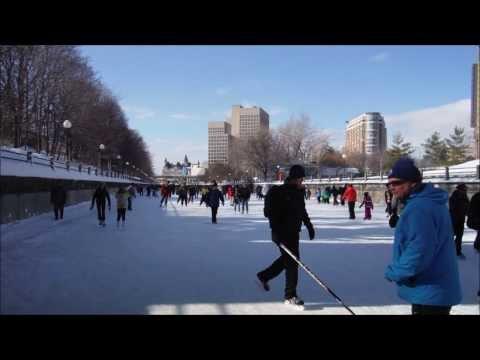 Winterlude Skateway Rideau Canal, Ottawa, Canada