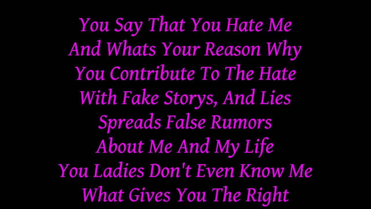 HoN Raps - Haters Gonna Hate w/ Lyrics - YouTube