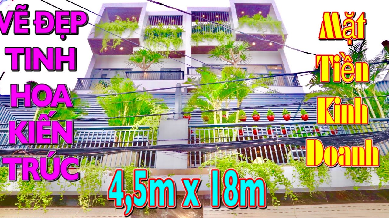 701✍️Bán Nhà Gò Vấp. 1 Cặp Nhà Phố Mặt Tiền 4,5m X18m 4 Lầu Mang Phong Cách 5 Sao Cho Từng Công Năng