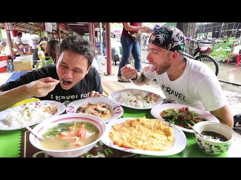 THAI FOOD TOUR of Bang Nam Pheung with MARK WIENS | Bangkok, Thailand