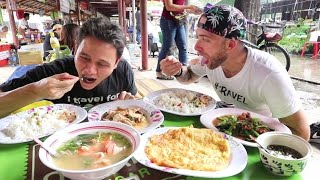 connectYoutube - THAI FOOD TOUR of Bang Nam Pheung with MARK WIENS | Bangkok, Thailand
