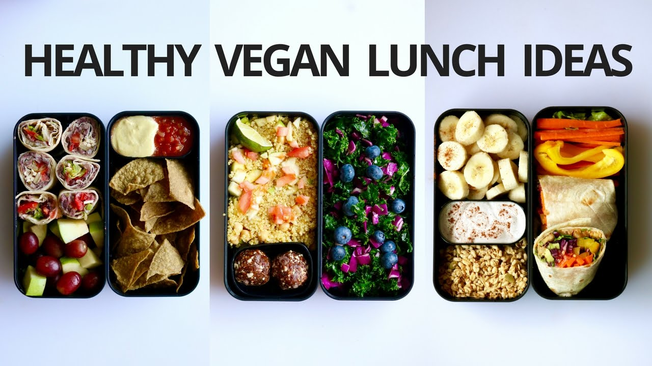 healthy vegan school lunch ideas 3 bento box youtube