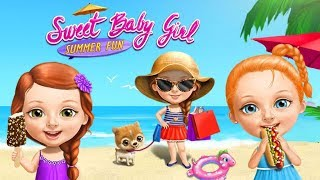 Seaside Games with Friends! Sweet Baby Girl Summer Fun | TutoTOONS Cartoons & Games for Kids