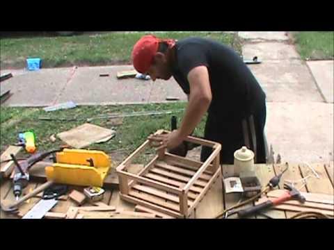 DIY Canning crates