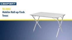 CamPart Travel TA-0802 Roll-Up-Aluminium-Tisch Texas