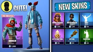 ANIMAL JACKETS SKINS! (Fortnite NEW SKINS Item Shop) [November 8th] Fortnite | Merl